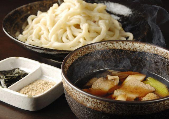 肉ネギつけ汁うどん(700円)