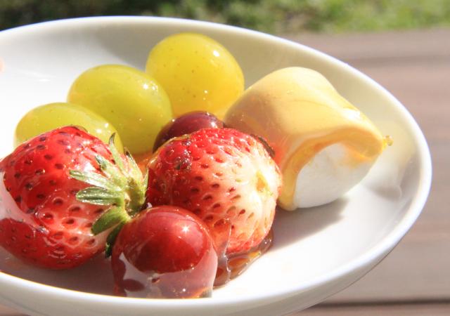 フルーツ 飴 砂糖 と 水 の 割合